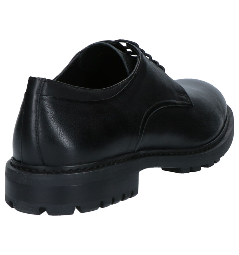 Geox Chaussures habillées en Noir en cuir (264080)