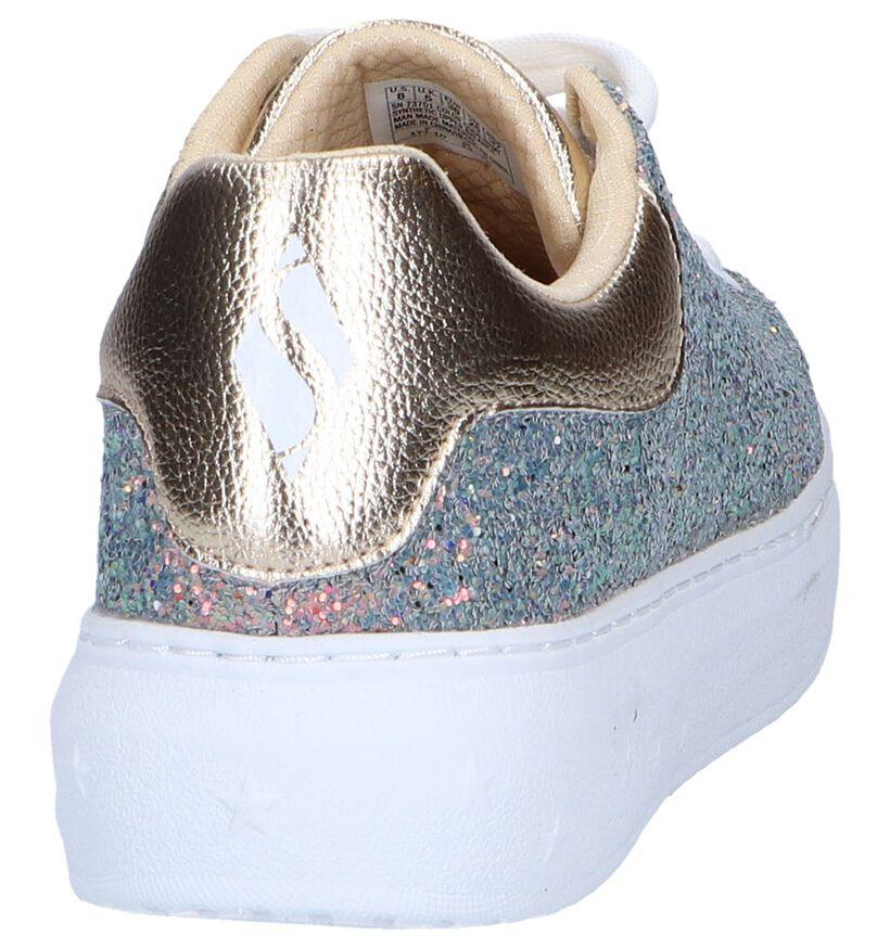 Gouden Geklede Sneakers Skechers High Street in kunstleer (251941)