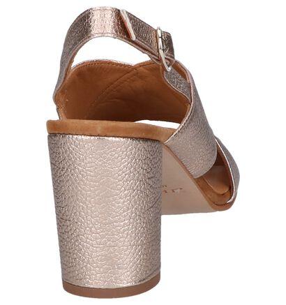 JHay Sandales à talons en Or rose en cuir (247956)