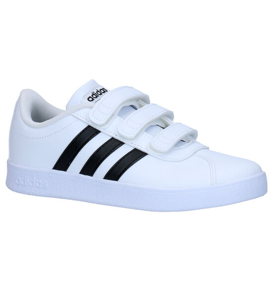 adidas VL Court 2.0 Witte Sneakers