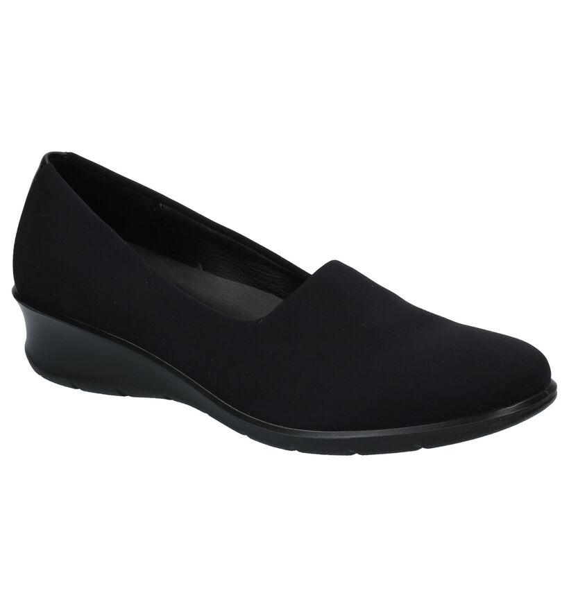 Ecco Felicia Chaussures basses en Noir en textile (275329)