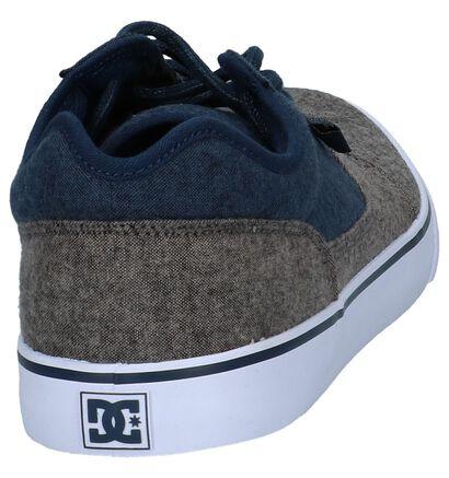 DC Shoes Skate sneakers en Gris foncé en textile (251146)