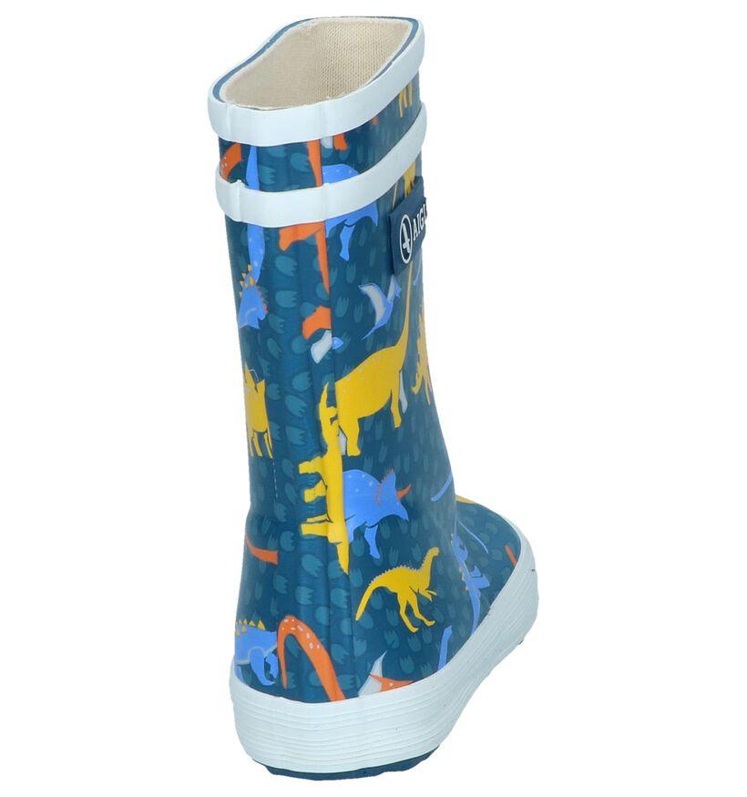 Blauwe Regenlaarzen Aigle Lolly Pop Kid in rubber (249622)
