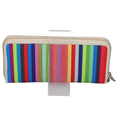 Arthur & Aston Porte-monnaies à fermeture à glissière en Multicolore en textile (221960)