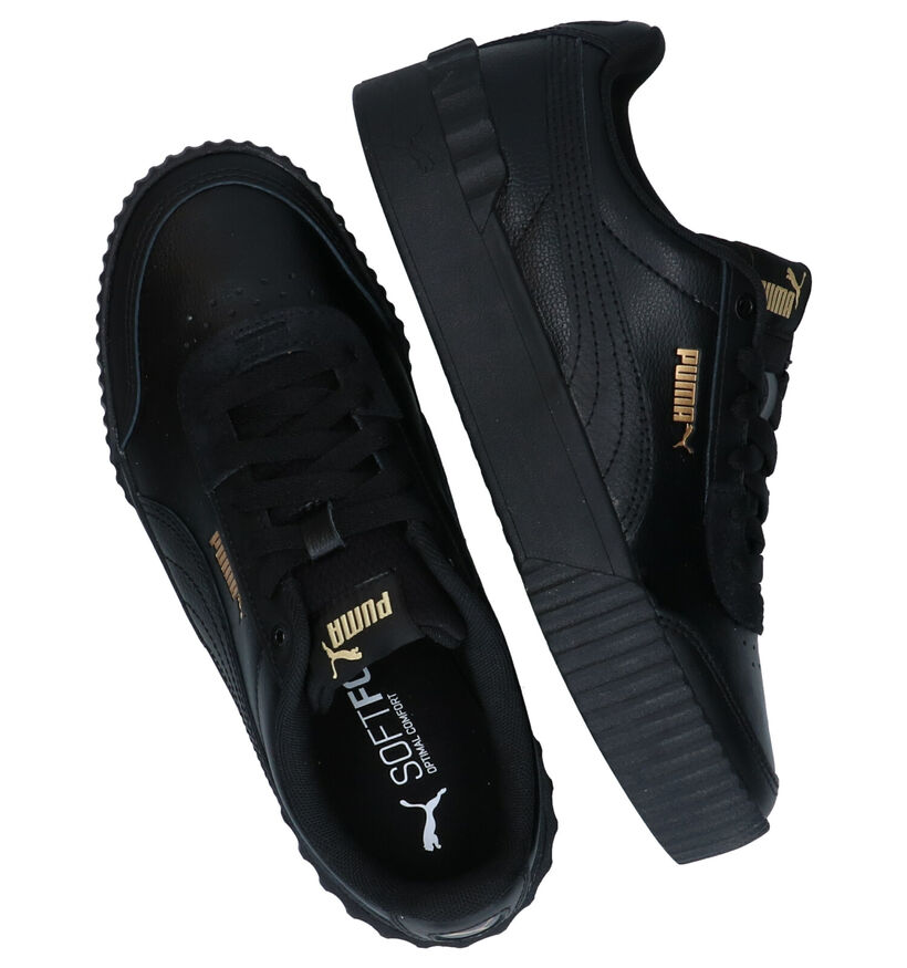 Puma Carina Baskets en Noir en cuir (276778)
