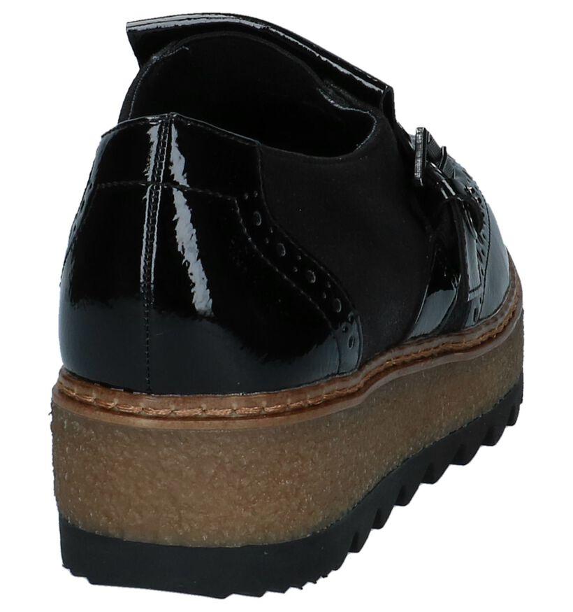 Tamaris Chaussures slip-on en Noir en cuir (226782)
