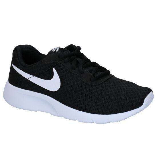 Nike Tanjun GS Zwarte Sneakers