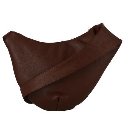 Crinkles Sacs porté croisé en Cognac en cuir (261932)