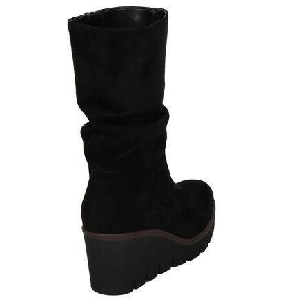 Gabor Zwarte Laarzen in stof (260146)