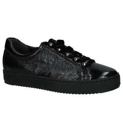Gabor Optifit Zwarte Sneakers in lakleer (231342)