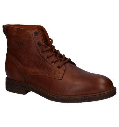 Australian Claymore Cognac Boots in leer (256284)