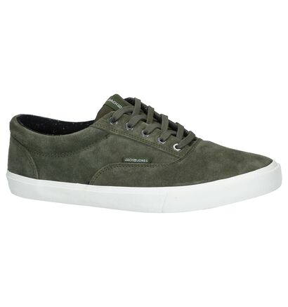 Kaki Casual Veterschoenen Jack & Jones Vision Suede in daim (240965)