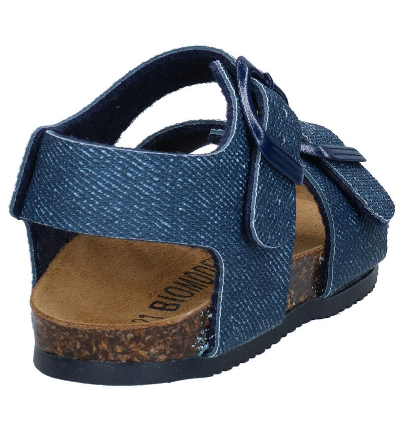 Biomodex Sandales en Bleu en simili cuir (266204)