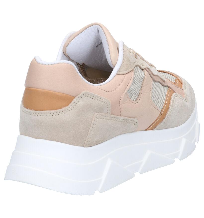 Tango Kady Fat Sneakers en Beige en daim (275188)