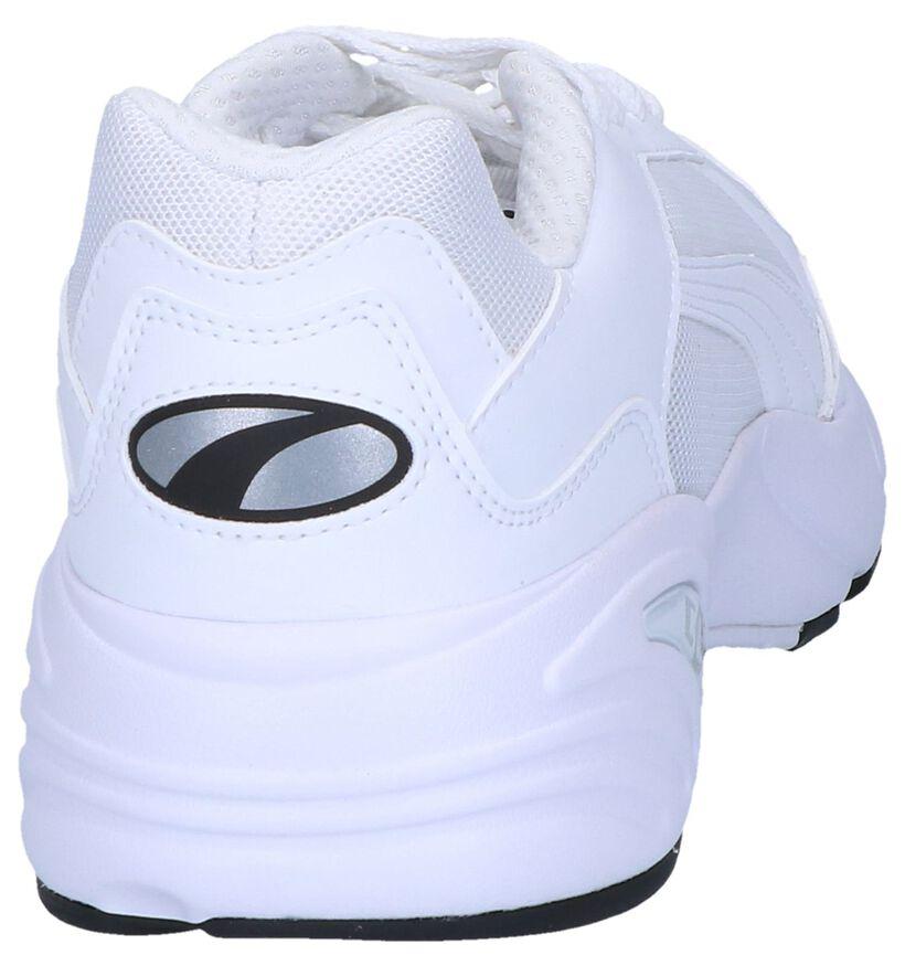 Puma Baskets basses en Blanc en textile (239358)