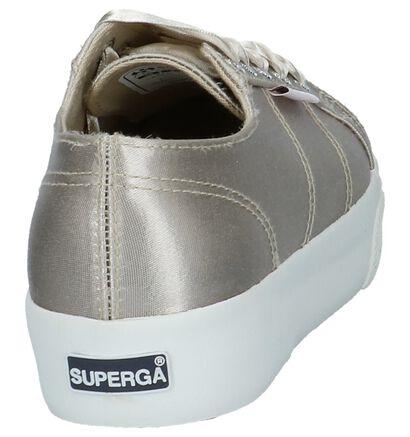 Superga Baskets basses en Beige en textile (214787)