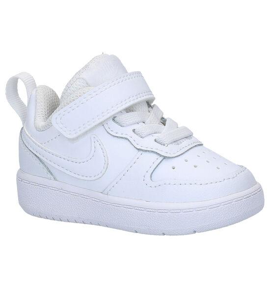 Nike Court Borough Baskets en Blanc