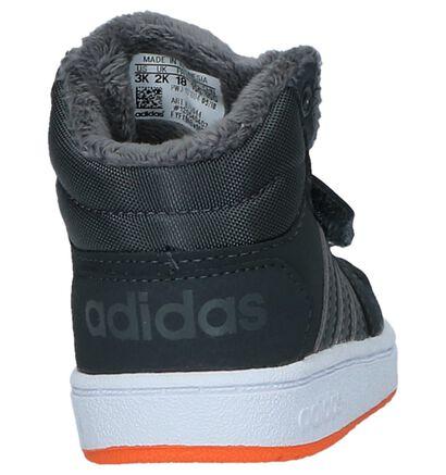 adidas Hoops Baskets en Blanc en simili cuir (252526)