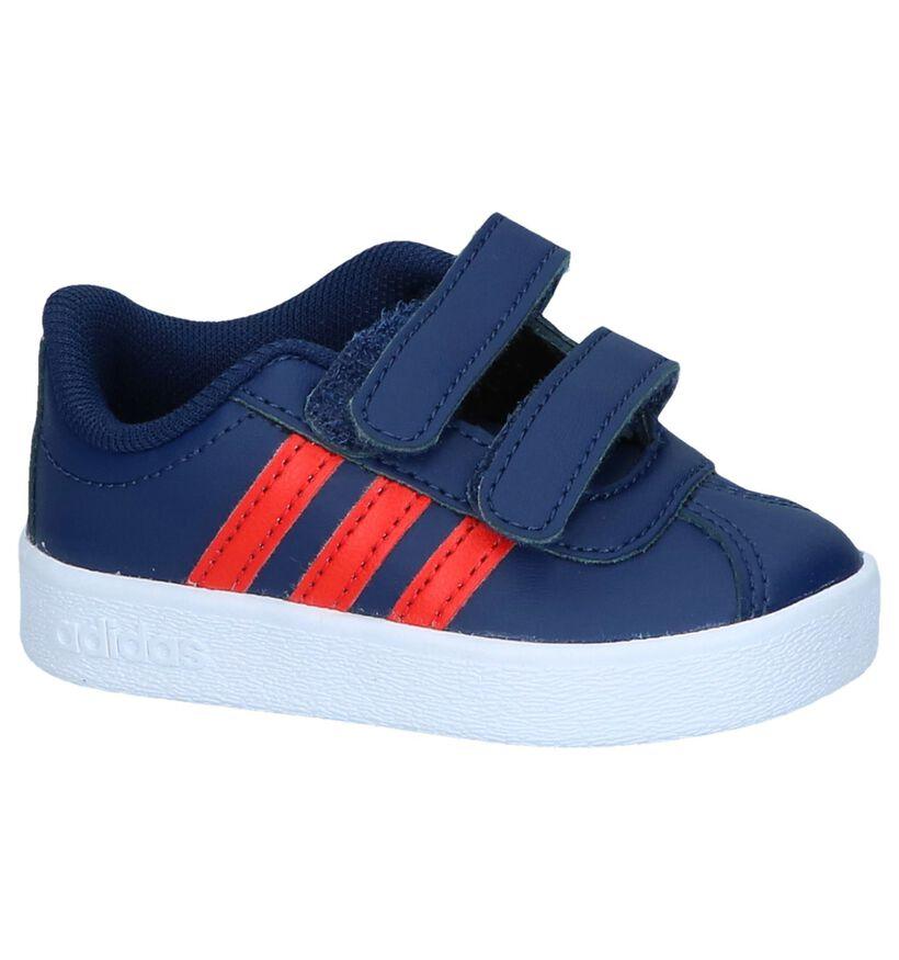 Witte Sneakertjes adidas VL Court 2.0 in kunstleer (237004)