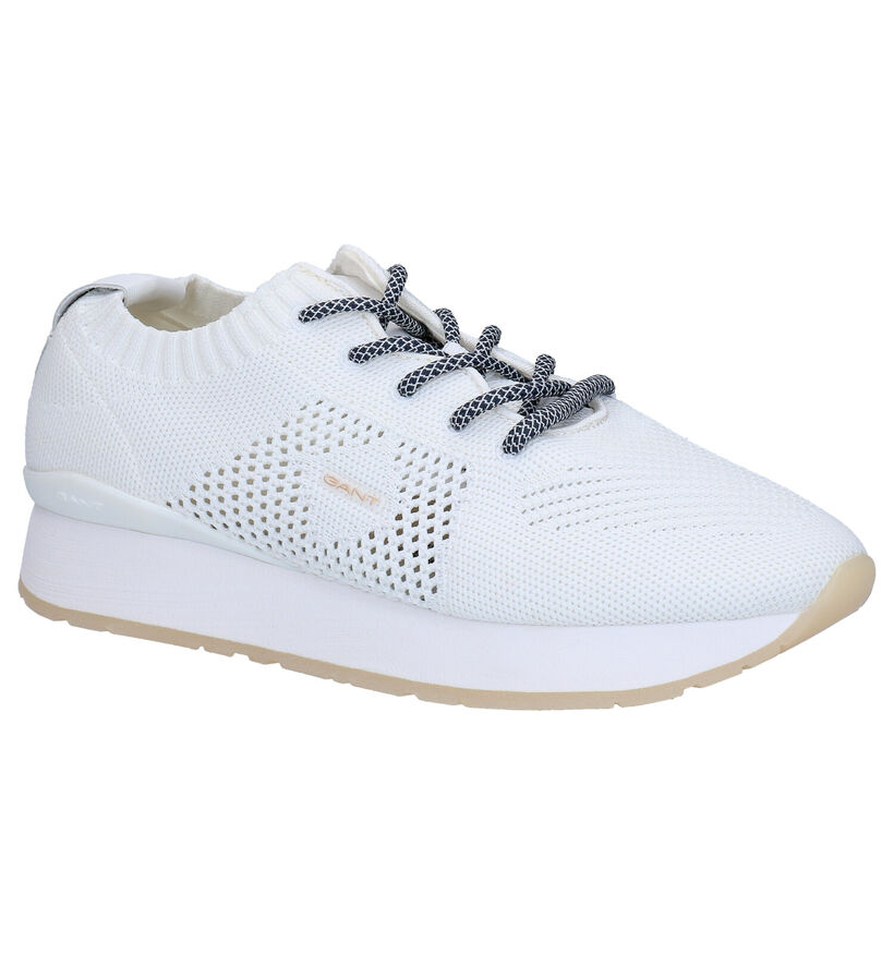 Gant Bevinda Witte Sneakers in stof (271309)
