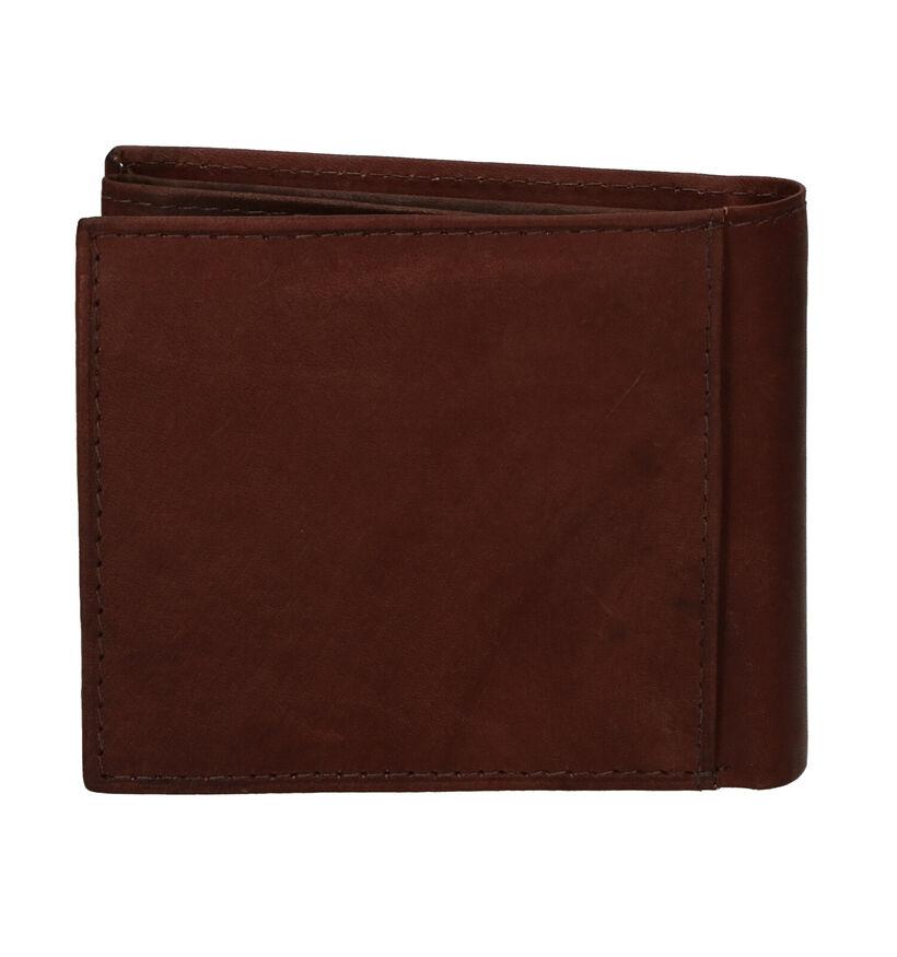 Euro-Leather Bruine Portefeuille in leer (279370)