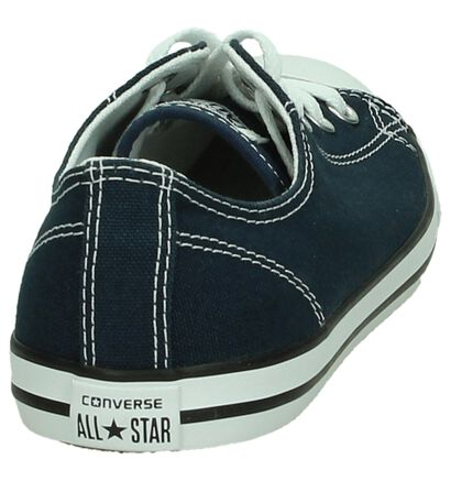 Converse CT All Star Dainty Donker Blauwe Sneakers in stof (191865)