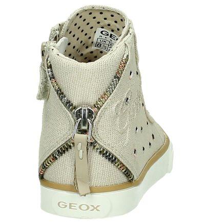 Geox Baskets hautes en Bleu foncé en textile (170557)
