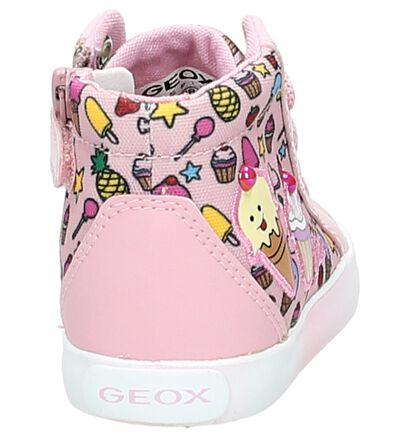 Geox Baskets hautes  (Rose), Rose, pdp