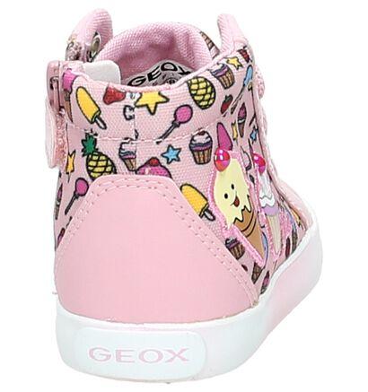 Geox Chaussures à fermeture à glissière et lacets  (Rose), Rose, pdp