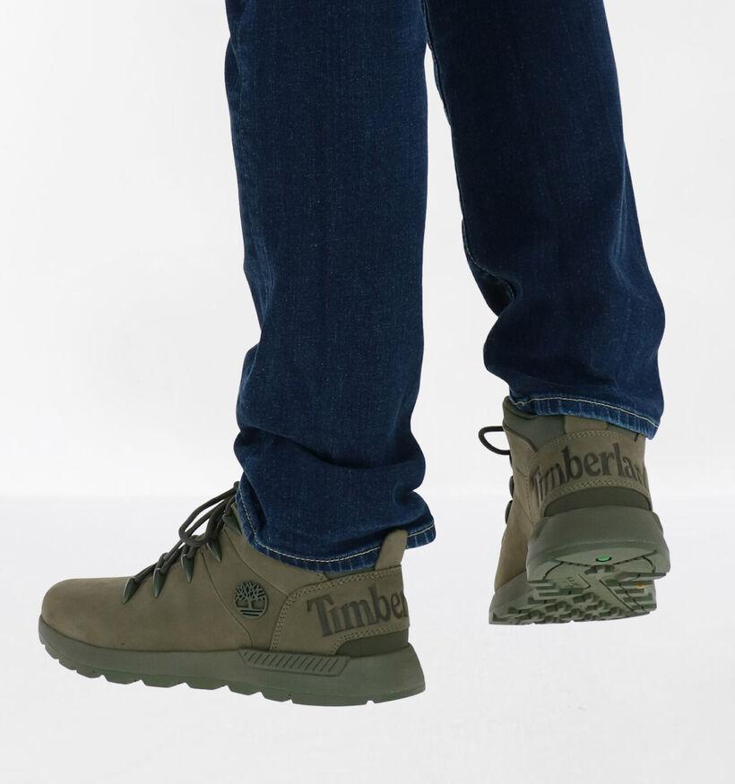 Timberland Sprint Trekker Gele Boots in nubuck (278948)