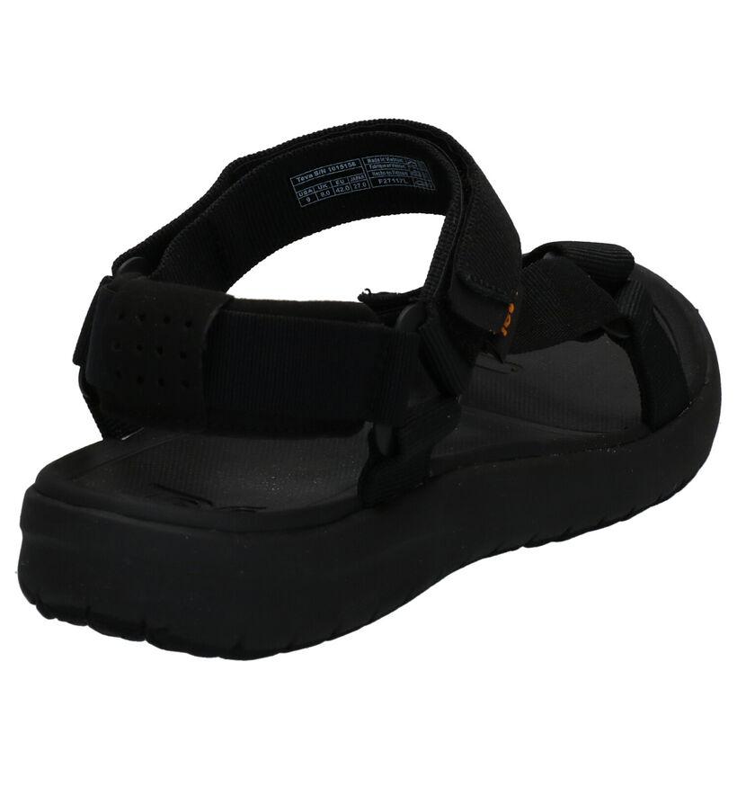 Teva Sanborn Sandales en Noir en textile (270496)