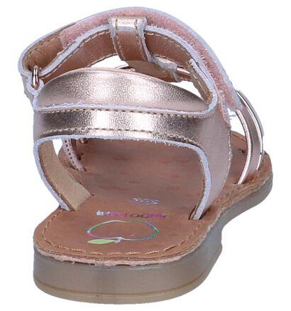 Shoo Pom Sandales en Or rose en cuir (242887)