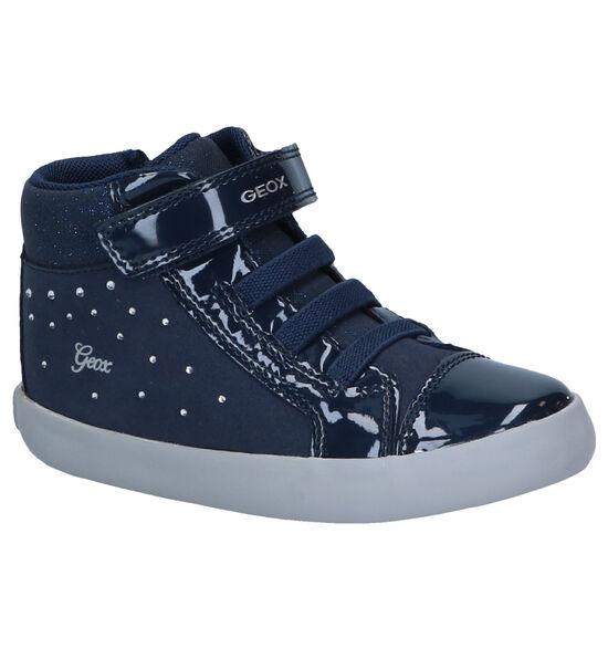 Geox Gisli Baskets hautes en Bleu
