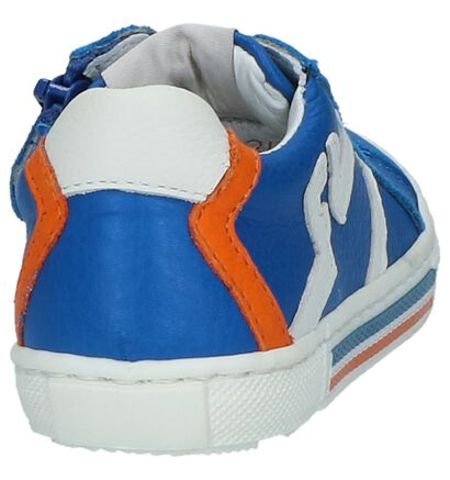 FR by Romagnoli Baskets basses en Bleu en cuir (211750)