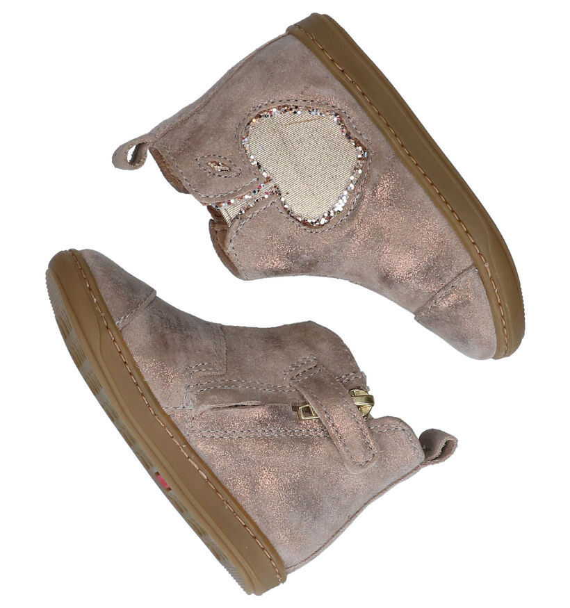 Shoo Pom Bouba Chaussures hautes en Or en nubuck (279222)