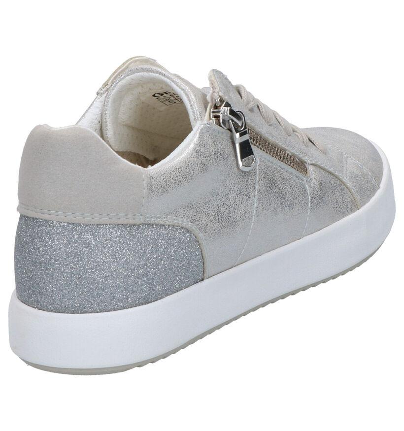 Geox Chaussures à lacets en Or en simili cuir (266823)