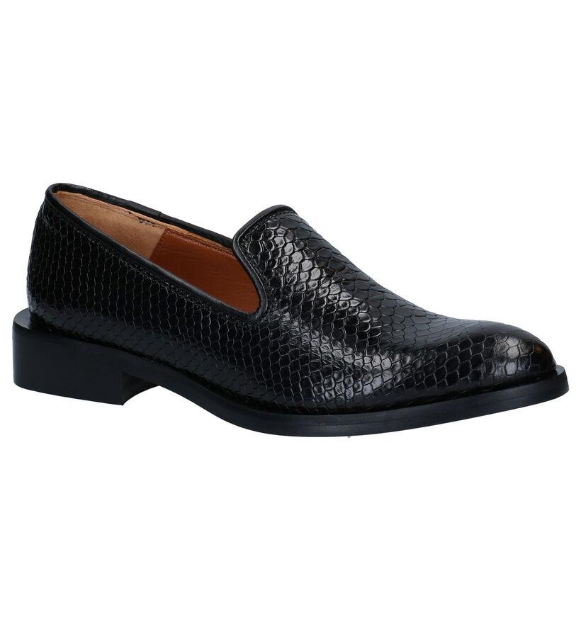 Zinda Loafers en Noir en cuir (283725)