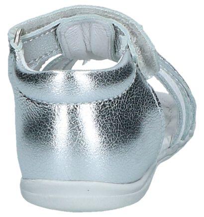 Zilveren Sandalen Nörvik Ibi in leer (246823)
