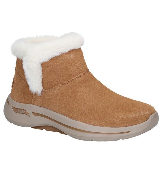 Skechers Archfit Cognac Snowboots