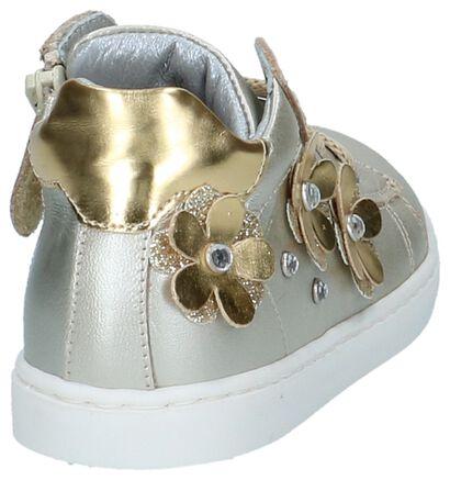 K3 Chaussures pour bébé  en Or en cuir (215474)