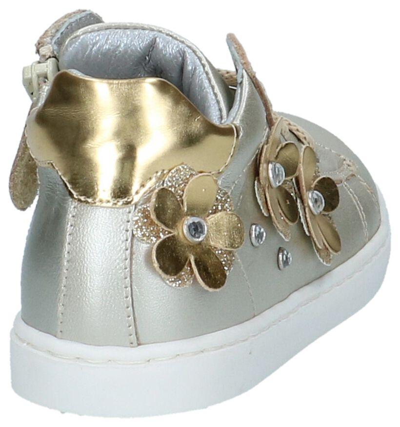 Gouden Babyschoentjes K3 in leer (215474)