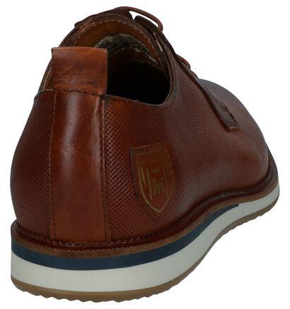 Pantofola d'Oro Fiuggi Donkerblauwe Geklede Veterschoenen , Cognac, pdp