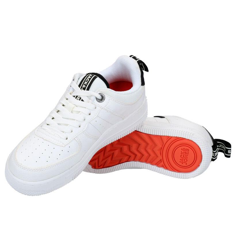 Jack & Jones Witte Sneakers in kunstleer (279189)