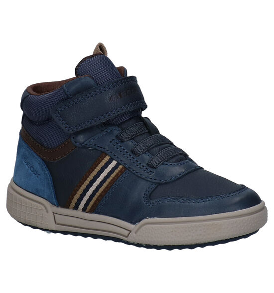 Geox Poseido Blauwe Hoge Schoenen