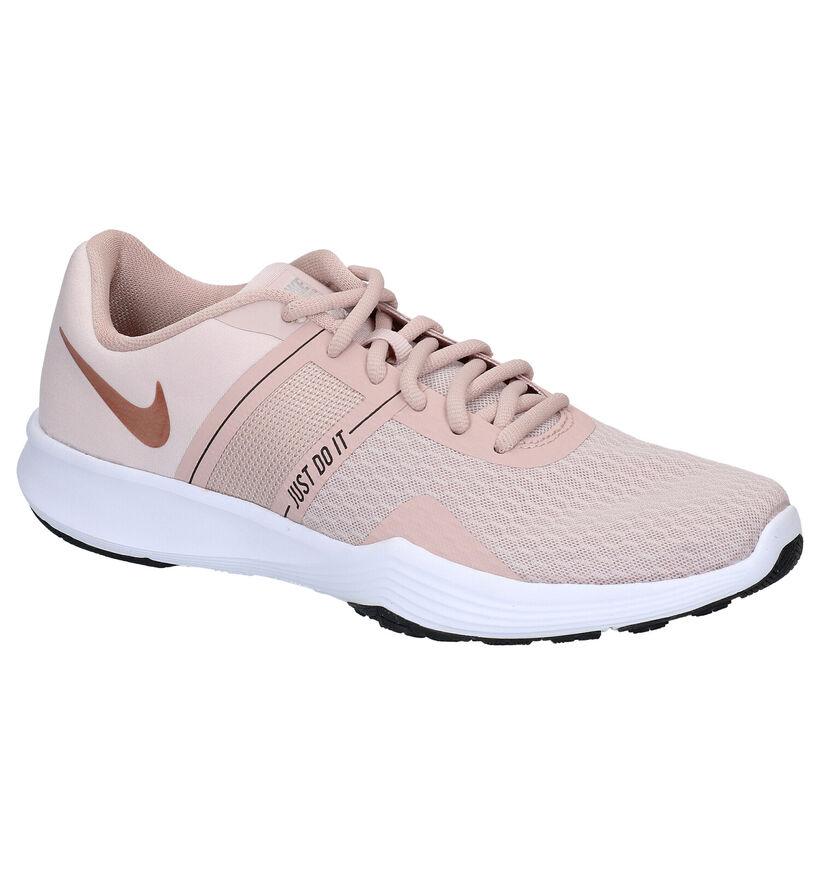 Nike City Trainer 2 Zwarte Sneakers in stof (266530)
