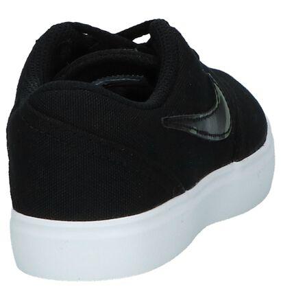 Nike SB Check Canvas PSV Zwarte Skateschoenen, Zwart, pdp