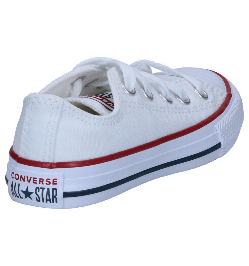 Zwarte Sneakers Converse Chuck Taylor AS OX in stof (238426)