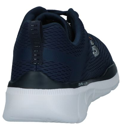 Donkergrijze Runners Skechers Relaxed Fit in stof (247406)