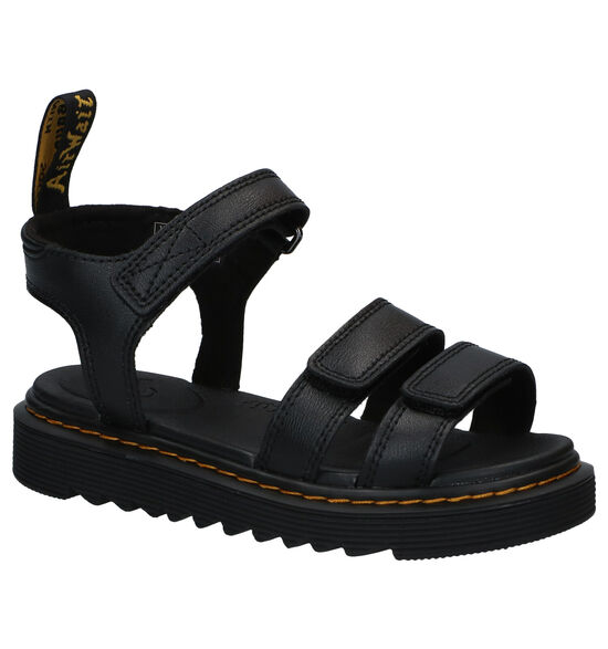 Dr. Martens Klaire Zwarte Sandalen