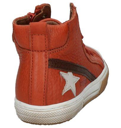 Bisgaard Chaussures hautes en Noir en cuir (230722)